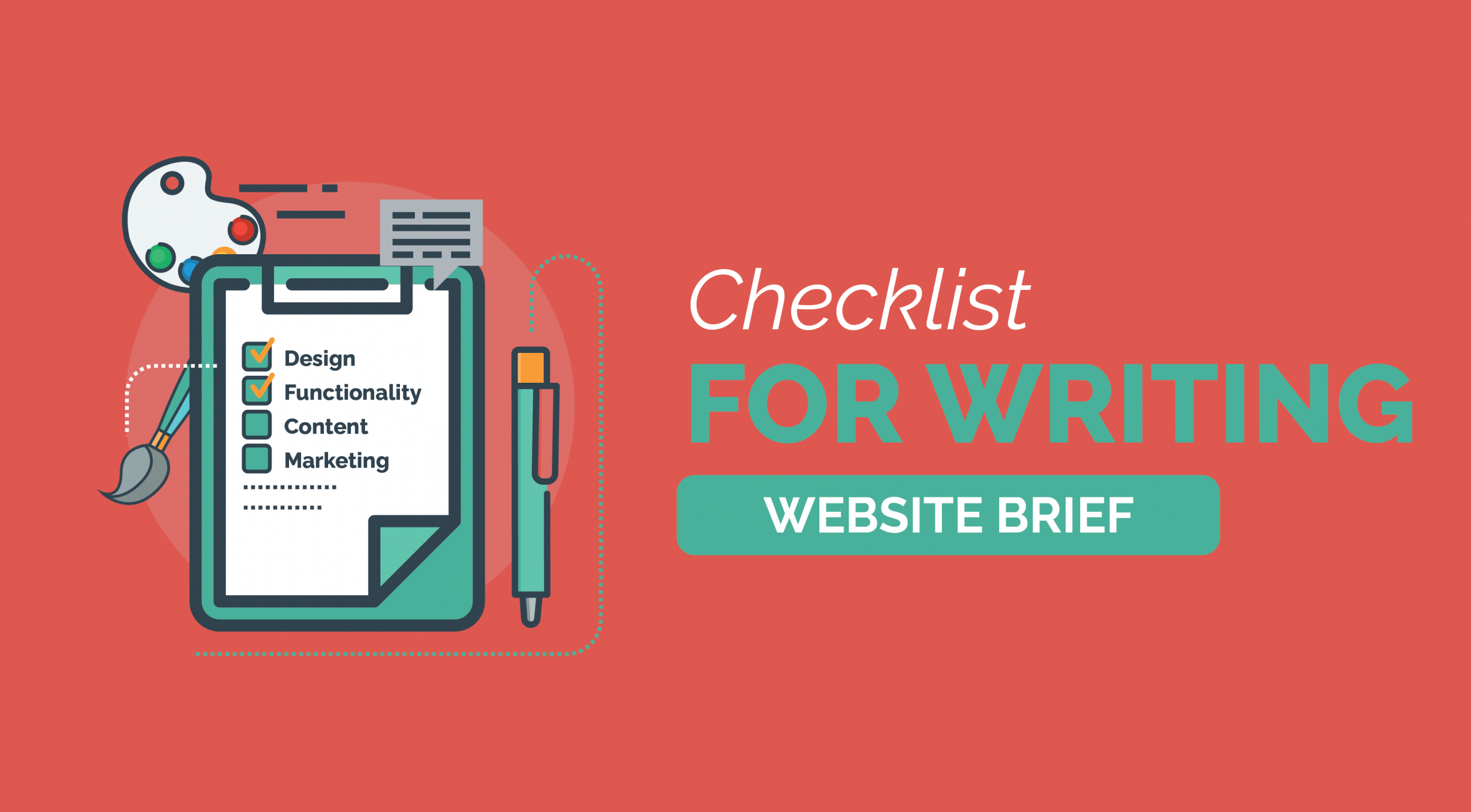Checklist for Writing Website Brief 3