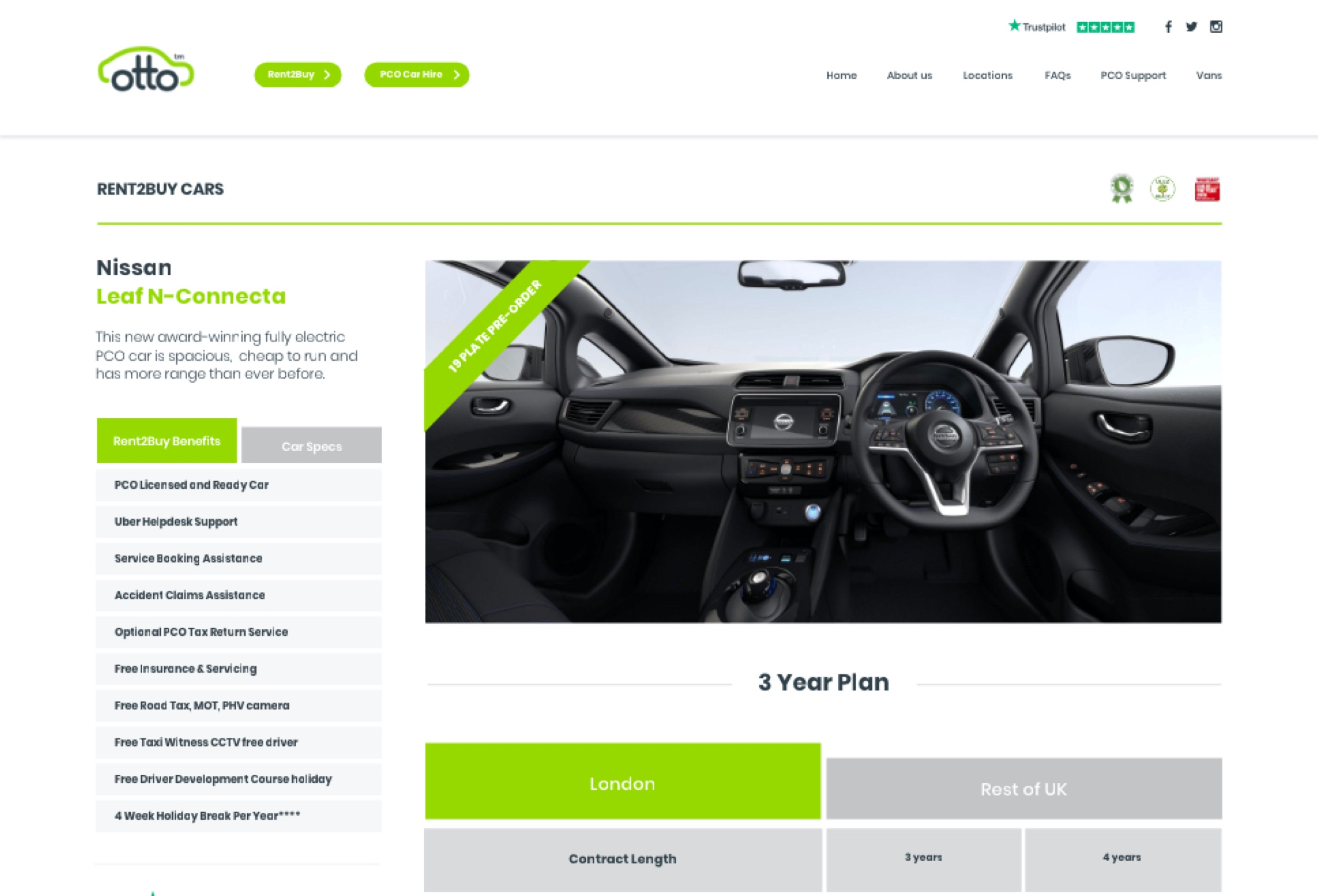 Otto Car Wordpress Case Study