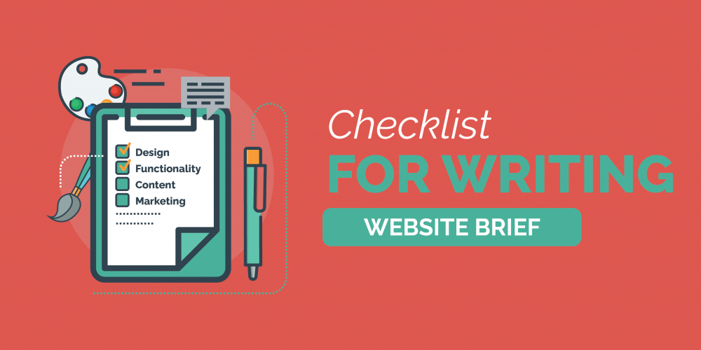 Checklist For Writing a Website Brief